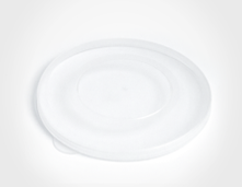 Replacement lid for Kangovou cereal bowls