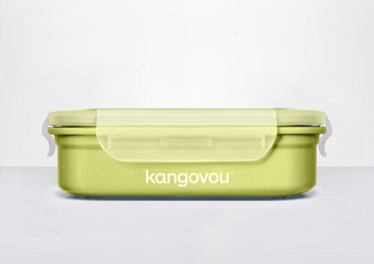 Bento Box- Double Insulted - Green - Large