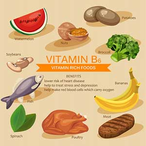 Healthy Living Vitamin B6
