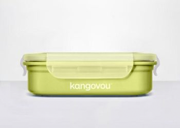 Kangovou Large Bento Lunch Box Green