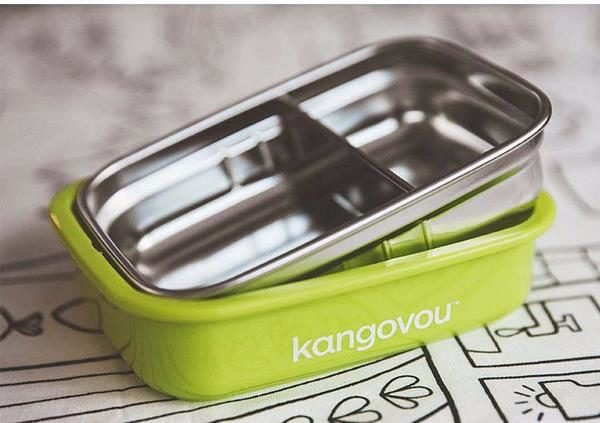 Kangovou Small Bento Lunch Box Side View