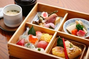 bento lunch box designed for Japanese food