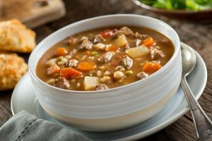 one of the most favorited healthy dinner options, vegetable beef stew