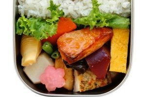 Kangovous bento lunch boxes are a popular choice in todays school cafeterias this s a picture of one