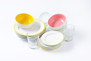 dishware that contains melamine with is just a harmful as PVC and BPA when used to eat or drink from