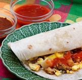 a breakfast burrito that is one of the best gluten free recipes in 2019