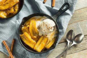 homemade bananas foster which is considered one of the best bento lunch box ideas
