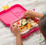 kid using a Bento Lunch Boxes